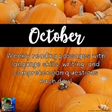 Weekly Reading Passages for October