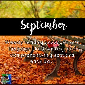 Weekly Reading Passages for September