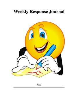 Weekly Reading Response Journal