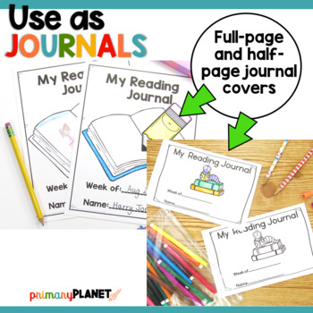 Reading Comprehension Response Journals