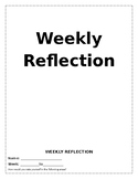 Weekly Reflection