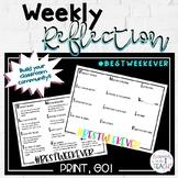 Weekly Reflection- #BestWeekEver
