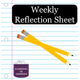 Weekly Reflection Sheet