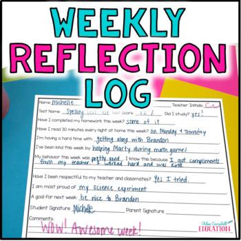 Weekly Reflection Log
