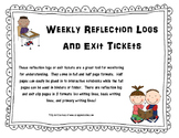 Weekly Reflection Logs & Exit Tickets