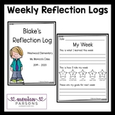 Weekly Reflection Logs for Students