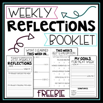 Weekly Reflections Booklet