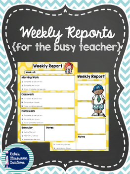Weekly Report Templates