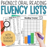 Fluency Practice Pages: Weekly Reading Lists and Tracker