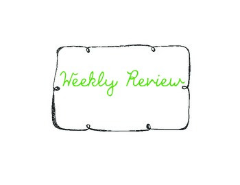 Weekly Review: a weekly journal