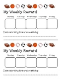 Weekly Rewards Chart