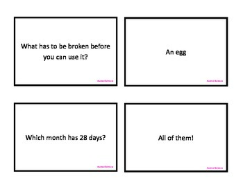 Weekly Riddles