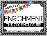 Weekly STEAM Enrichment {Animal Enclosure}