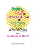 Weekly SUMMER theme Lesson Plan for Preschool, Pre-K, Kindergarten
