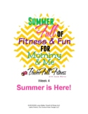 Weekly SUMMER theme Lesson Plan for Preschool, Pre-K, Kind