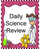Weekly Science Review