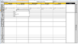 Weekly Secondary Lesson Plan Template 100% Editable!