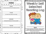 Weekly Self Selected Reading Log