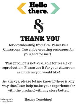 Weekly Sheet: Teacher Organization Tool