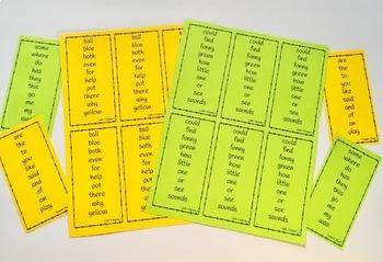 Weekly Sight Words Bookmarks (Reading Wonders Grade 2 Aligned)