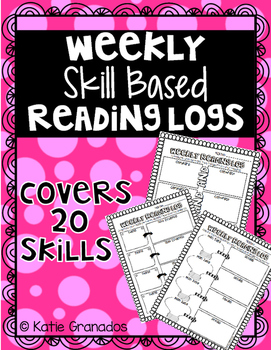 Weekly Skill Based Reading Logs