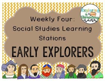Weekly Social Studies Center: Early Explorers