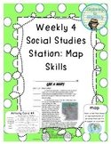 Weekly Social Studies Center: Map Skills