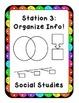 Weekly Social Studies Stations