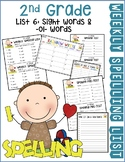 Weekly Spelling Lists 2nd Gr List 6 (Sight words & -ol- words)