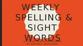 Weekly Spelling Lists