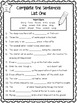 Weekly Spelling Lists - Differentiated - SET FOUR - Weeks 31 - 42