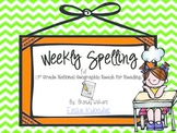 Weekly Spelling Lists for National Geographic Reach for Reading 1st Grade