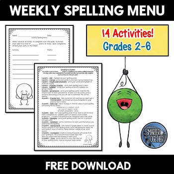 Spelling Activities for Any List