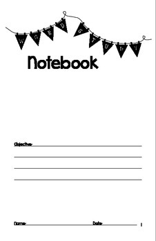 Weekly Spelling Notebook