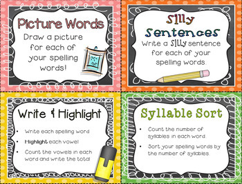 Spelling Practice {for ANY Spelling List!}