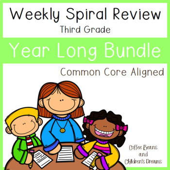 Weekly Spiral Reviews: Growing Year Long Bundle