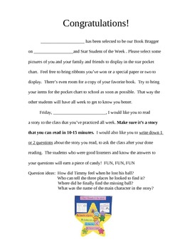 Weekly Student Reader Form