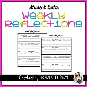 Weekly Student Reflections