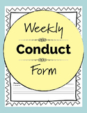 Weekly Student Report - Communicate with Parents