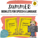Weekly Summer Booklets for Speech & Language | Email & Go