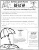 Weekly Summer Speech Therapy Homework!