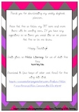 Weekly Teacher Planner Rainbow Chevron