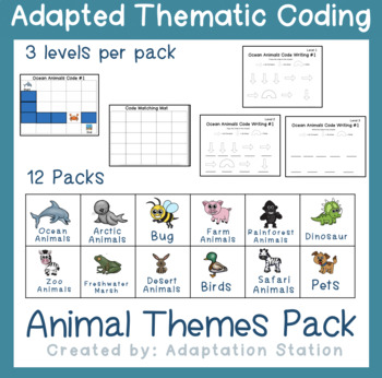 Weekly Thematic Coding: Ocean Animals