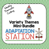 Weekly Thematic Coding: Variety Theme Growing Mini-Bundle