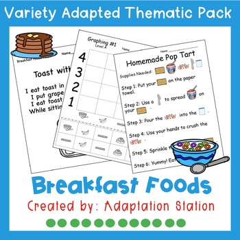 Weekly Thematic Pack: Breakfast Foods
