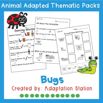 Weekly Thematic Pack: Bug Theme