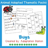 Bug Adapted Thematic Pack