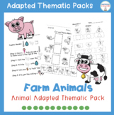 Adapted Thematic Pack: Farm Animals