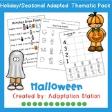 Weekly Thematic Pack: Halloween Costumes