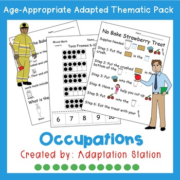 Weekly Thematic Pack: Occupations
